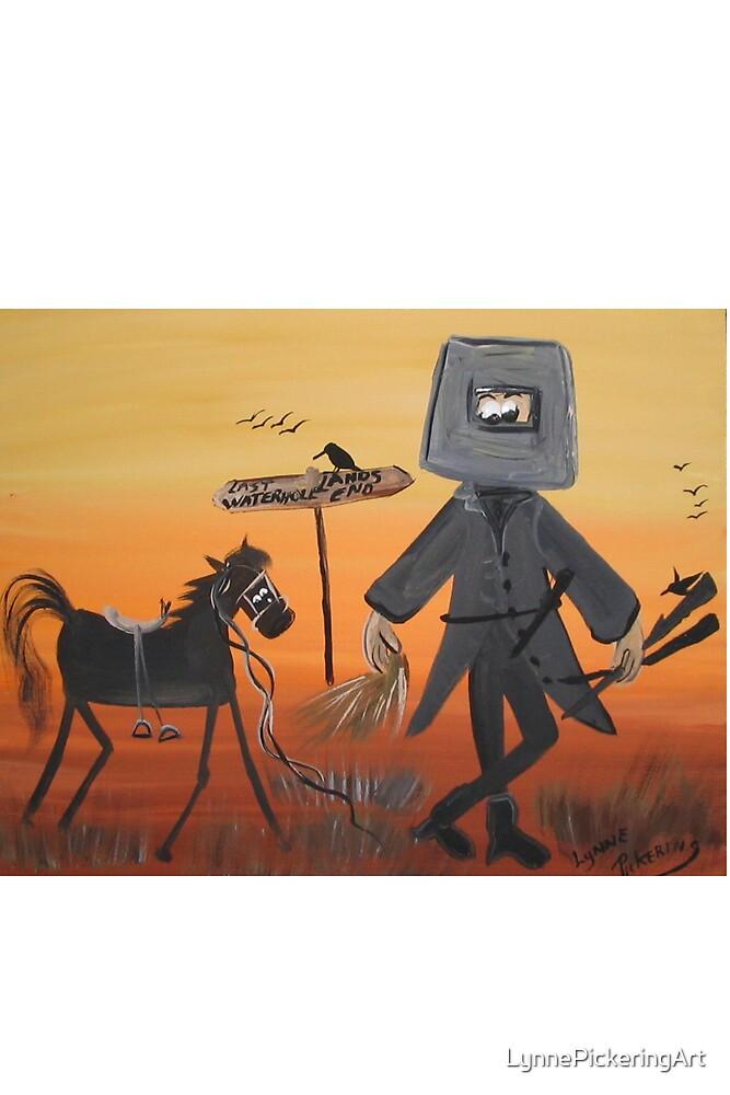 Ned Kelly  Last grass horsey by LynnePickeringArt