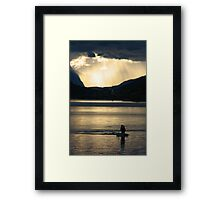 Fisher Framed Print