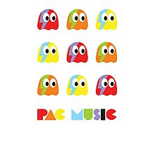 Pac Music Photographic Print