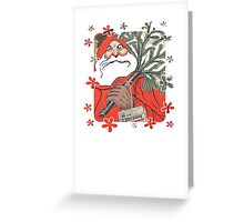 Christmas Pudding (Kerstpudding) Holiday Greeting Greeting Card