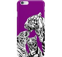 tiger and cubs iPhone Case/Skin
