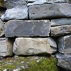 dry stone wall by Wrigglefish