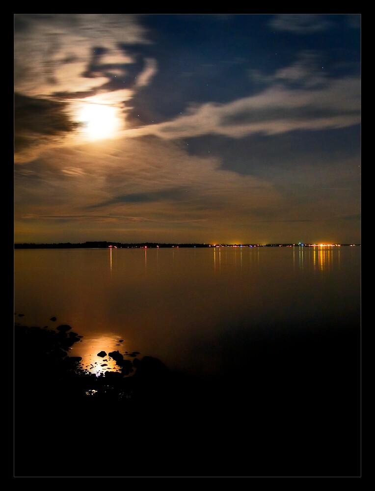 Under The Full Moon by NYLongBow