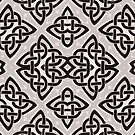Celtic Knot Print by red addiction