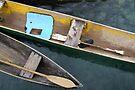 Canoes, Solomon Islands by John Douglas