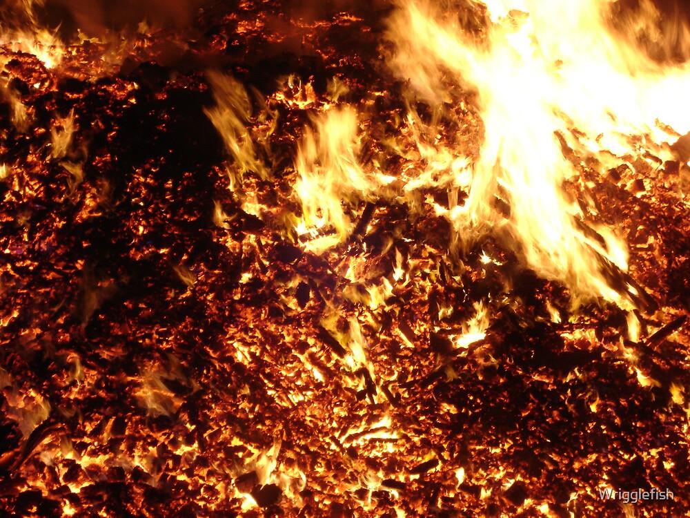 burning desire by Wrigglefish