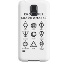 Know Your Shadowmarks (Dark) Samsung Galaxy Case/Skin