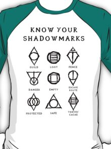 Know Your Shadowmarks (Dark) T-Shirt
