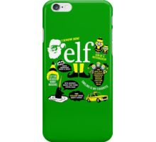 Buddy the Elf Quotes iPhone Case/Skin