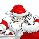 DJ Santa Claus Mixing The Christmas Party Track by taiche