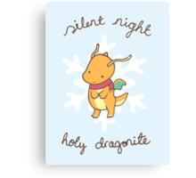 Dragonite Christmas Canvas Print