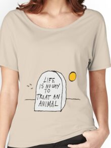 Life. Women's Relaxed Fit T-Shirt