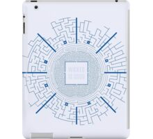 Maze Runner Blueprints iPad Case/Skin