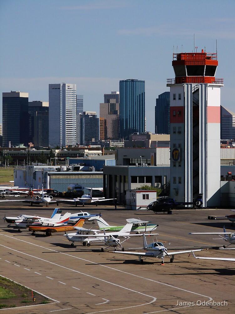 Edmonton City Center by James Odenbach