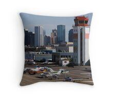 Edmonton City Center Throw Pillow
