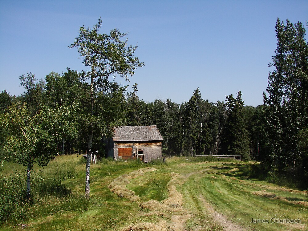 Barn by James Odenbach