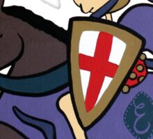 Wildago's Medieval Edmund Sticker