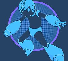 Retro Blue Hero by PidoBear