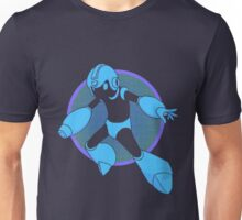 Retro Blue Hero Unisex T-Shirt