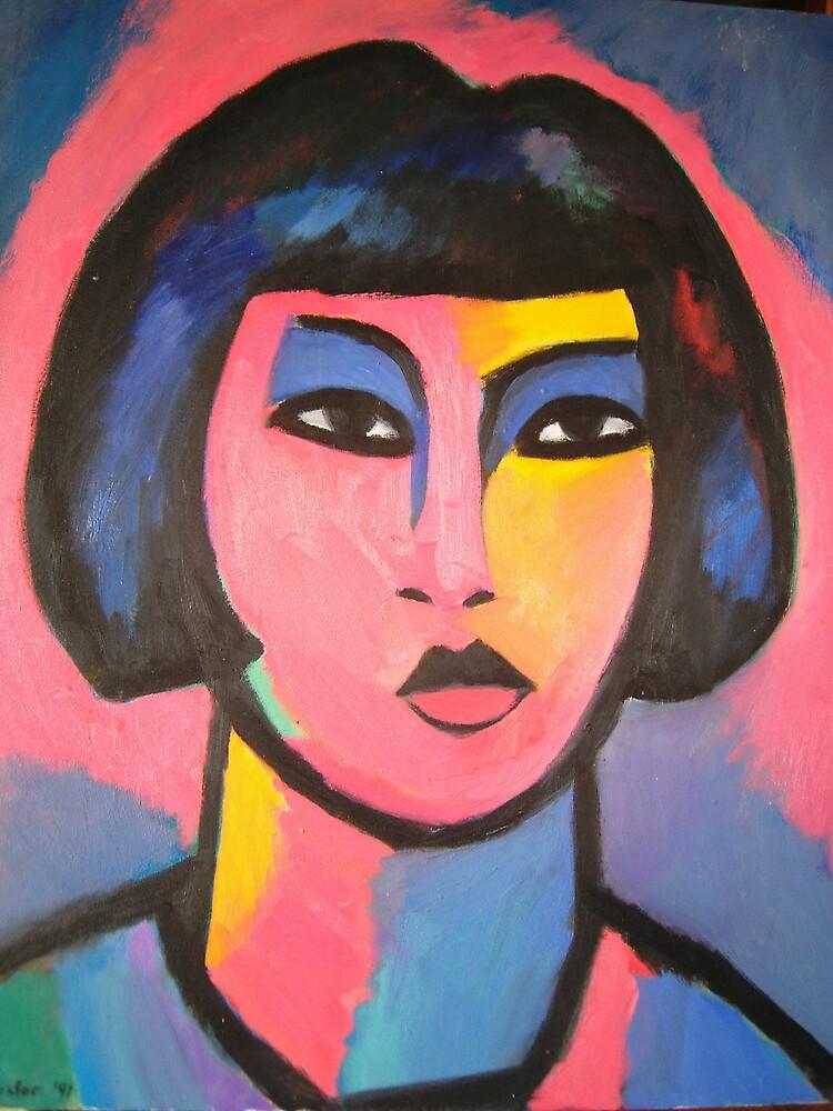 Head of Girl by Bill Proctor