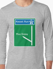 Is this the sign your looking for? Long Sleeve T-Shirt