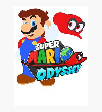 Super Mario Odyssey  Photographic Print