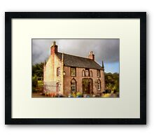 Delgatie Castle Laundry (Now Forester's Cottage) Turriff, Scotland Framed Print