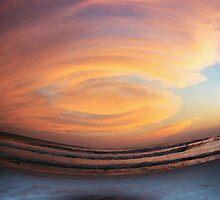 destin sunset by Bree Tipton