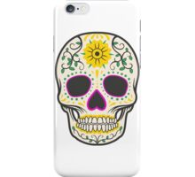 skull yellow iPhone Case/Skin