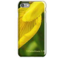 Wisdom from God ~ 1 Corinthians 1: 30 iPhone Case/Skin