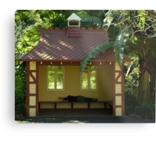 Sleepy Sunny Day, Botonic Gardens Geelong Metal Print