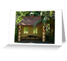 Sleepy Sunny Day, Botonic Gardens Geelong Greeting Card