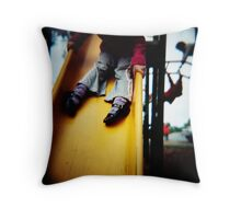 Legs On A Slide Throw Pillow