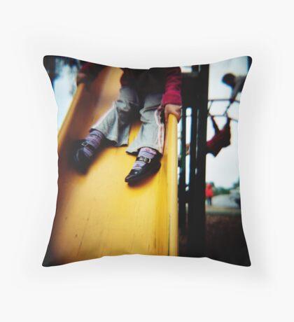 Legs On A Slide Throw Pillow