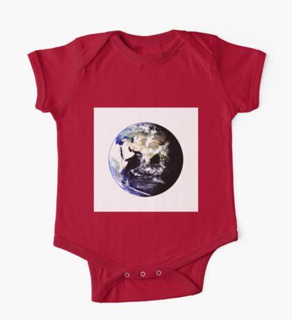 Earth Globe One Piece - Short Sleeve