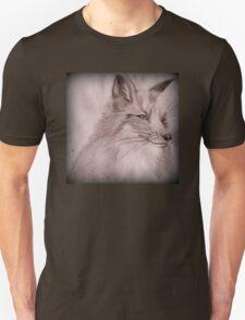 Lone Winter Fox T-Shirt