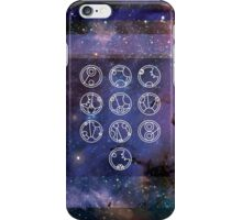 Galaxy and Gallifreyan iPhone Case/Skin