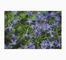 Purple Flowers Kids Tee
