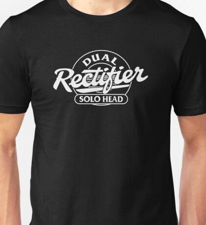 Mesa Boogie Dual Rectifier Solo Head White Unisex T-Shirt