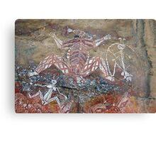 Aboriginal Rock Art Metal Print
