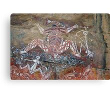 Aboriginal Rock Art Canvas Print