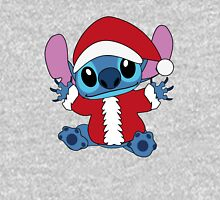 Cute christmas Stitch in Santa costume Pullover