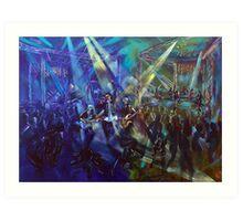 Airlie Beach Music Festival - 2014 Saturday Night Art Print