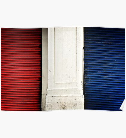Red, White and Blue I Poster