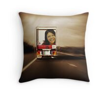 The travelling companion Throw Pillow