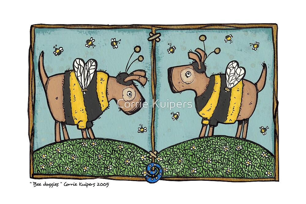 Bee doggies by Corrie Kuipers