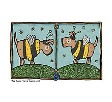Bee doggies Photographic Print