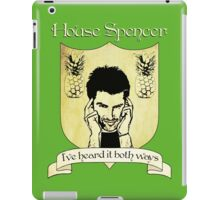 Psych House Spencer Crest  iPad Case/Skin