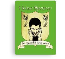 Psych House Spencer Crest  Canvas Print