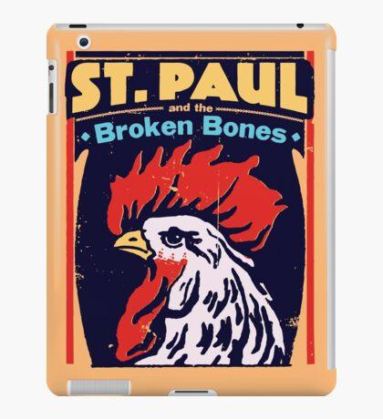 St Paul & the Broken Bones - Rooster iPad Case/Skin
